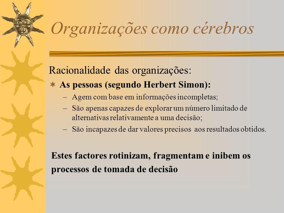 Organizações como cérebros