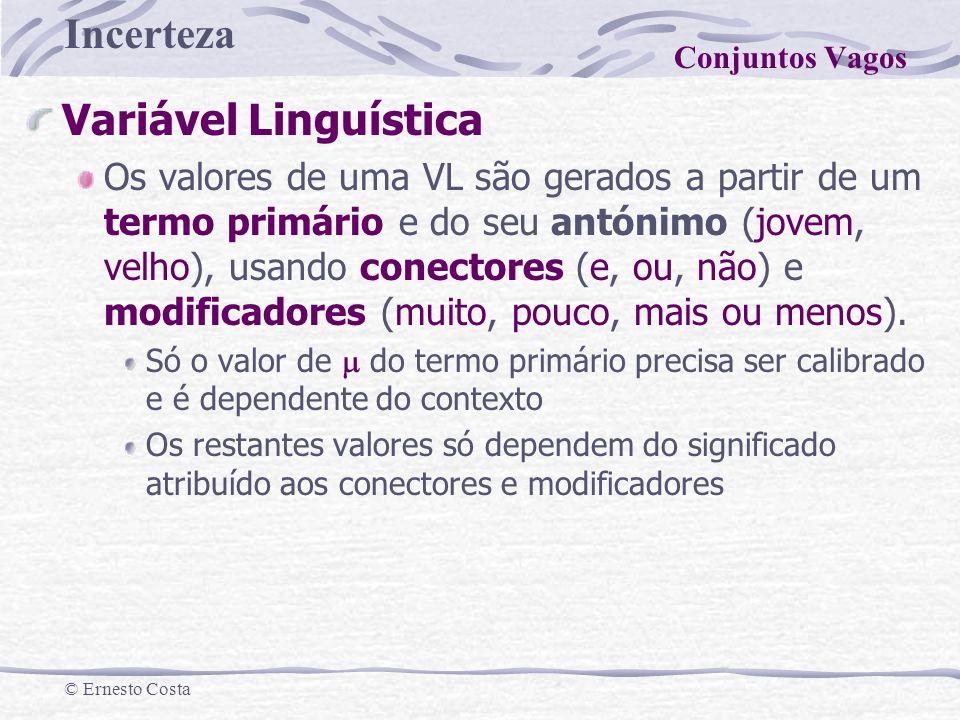 Conjuntos Vagos Variável Linguística.