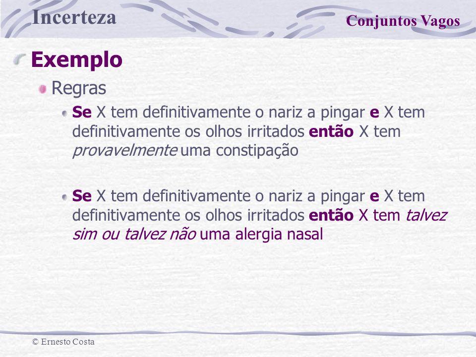 Exemplo Regras Conjuntos Vagos