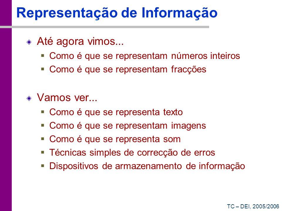 Representação de Informação