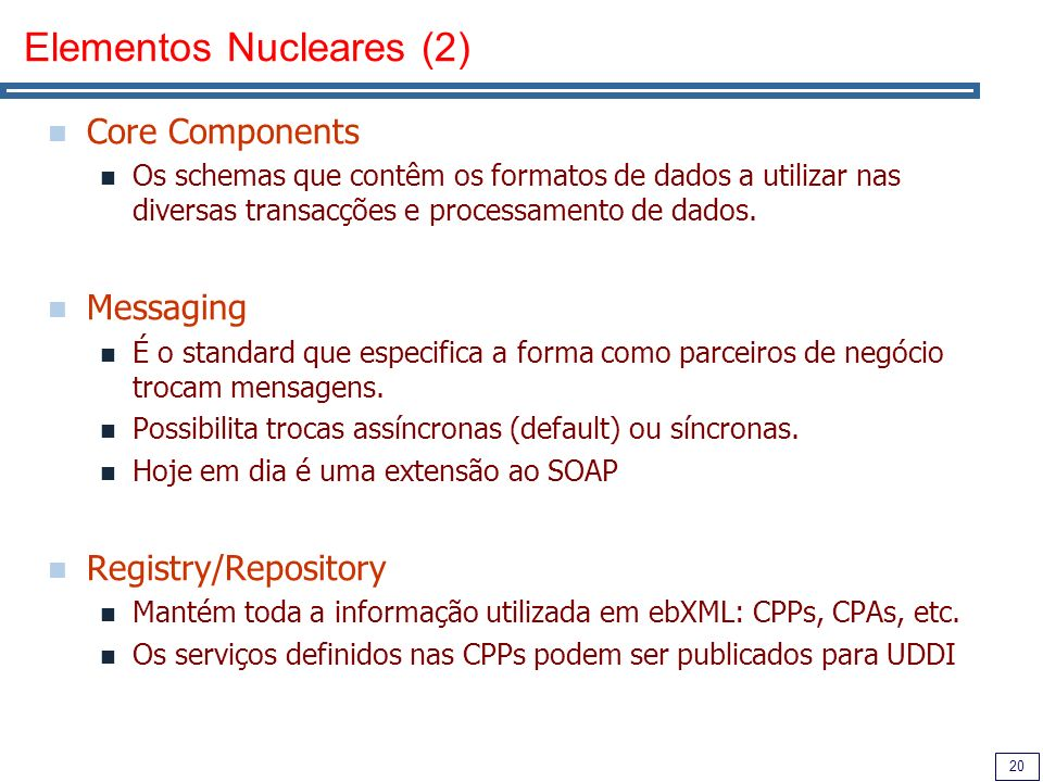 Elementos Nucleares (2)