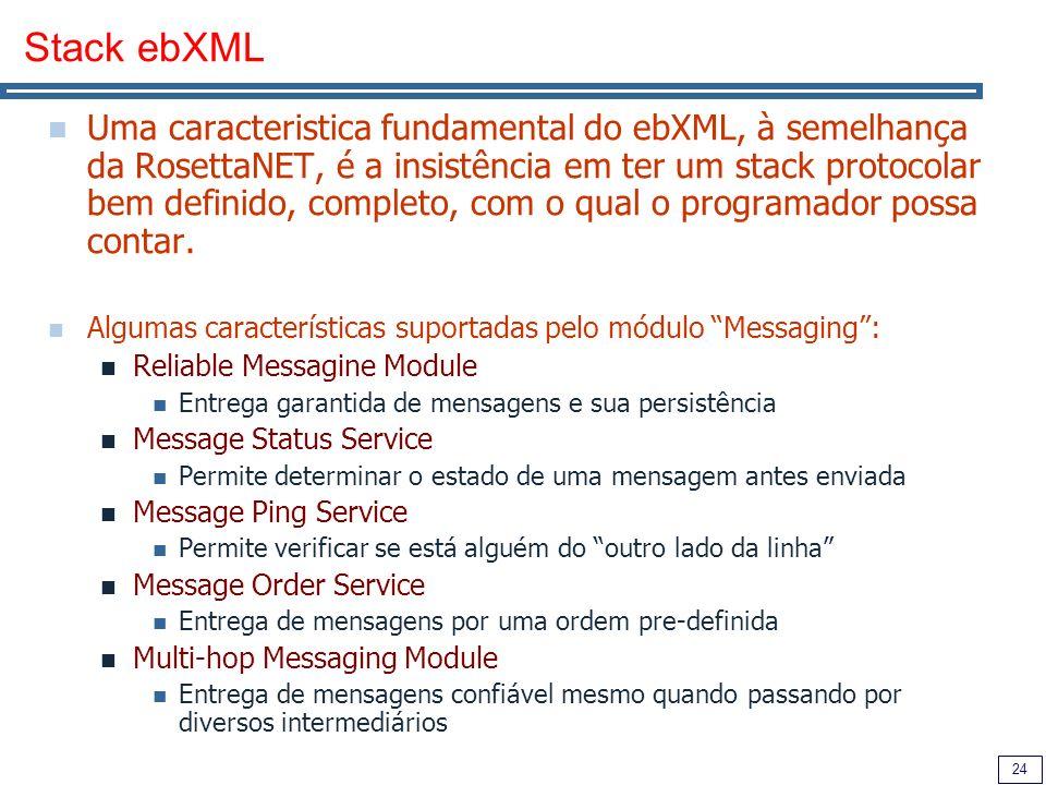 Stack ebXML