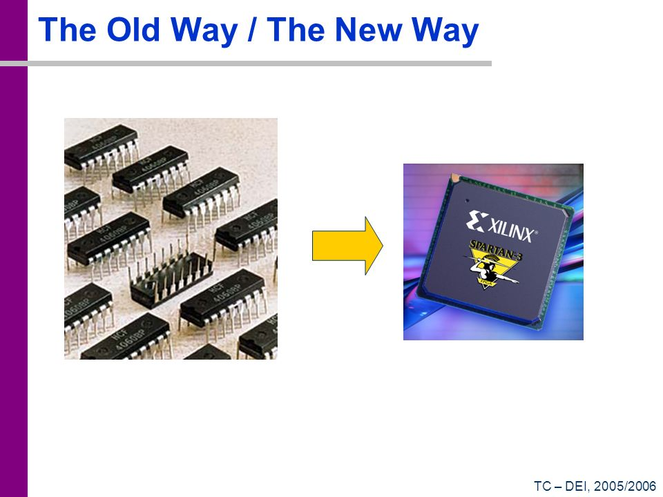 The Old Way / The New Way TC – DEI, 2005/2006