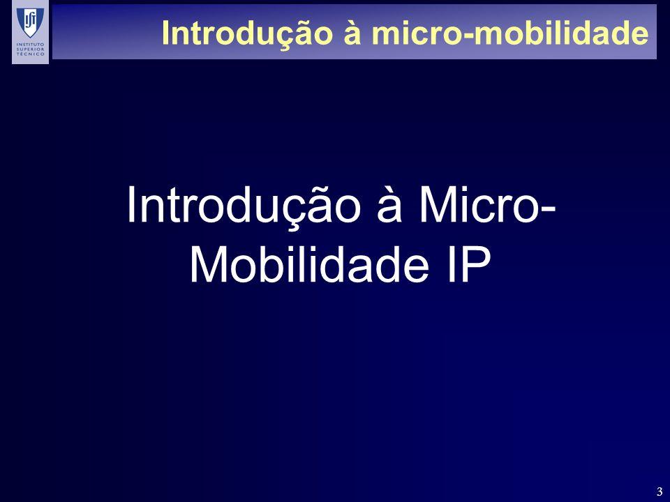 Introdução à micro-mobilidade