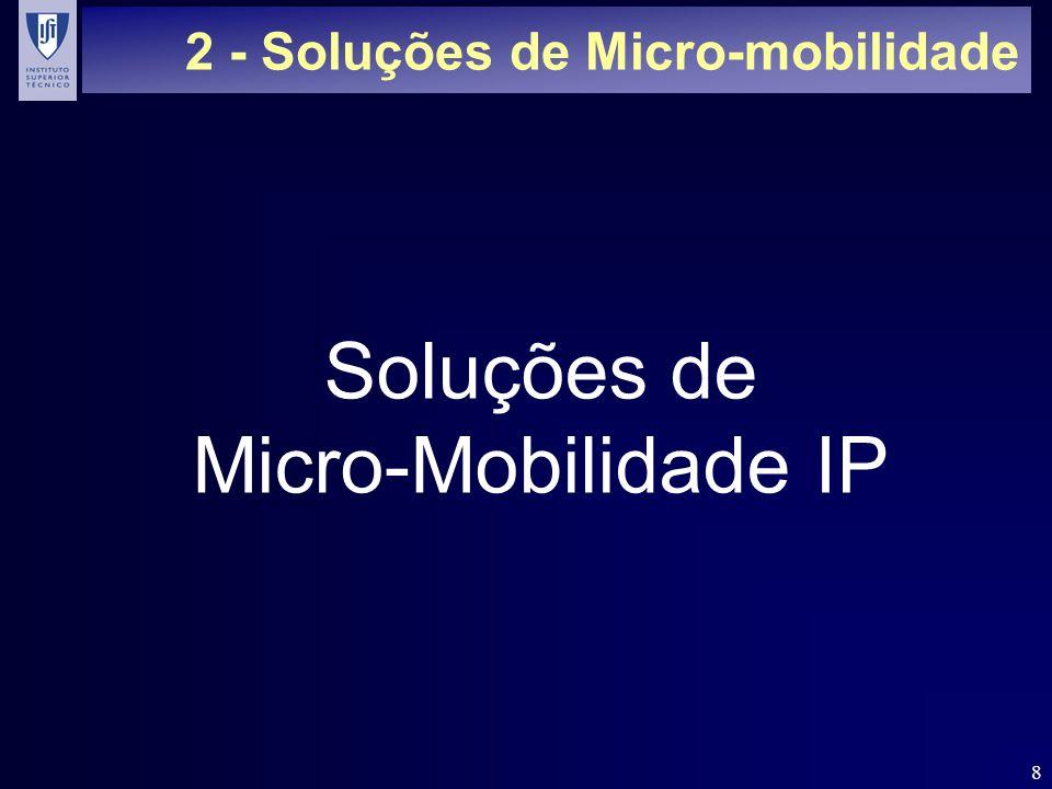 2 - Soluções de Micro-mobilidade