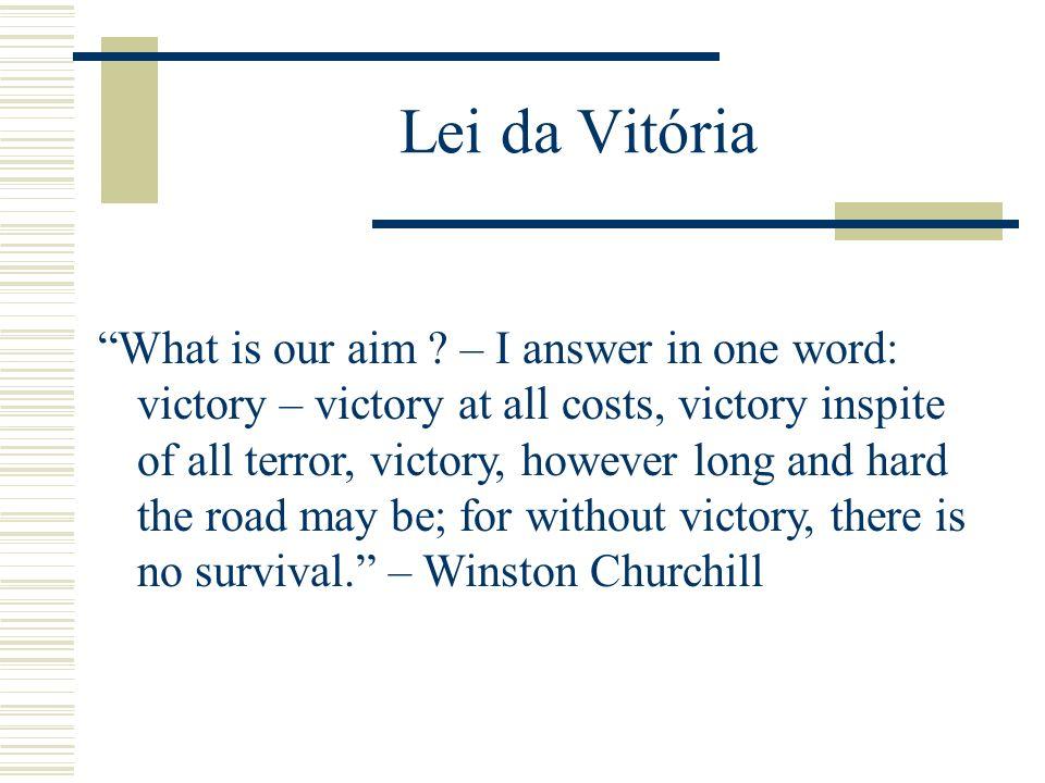 Lei da Vitória