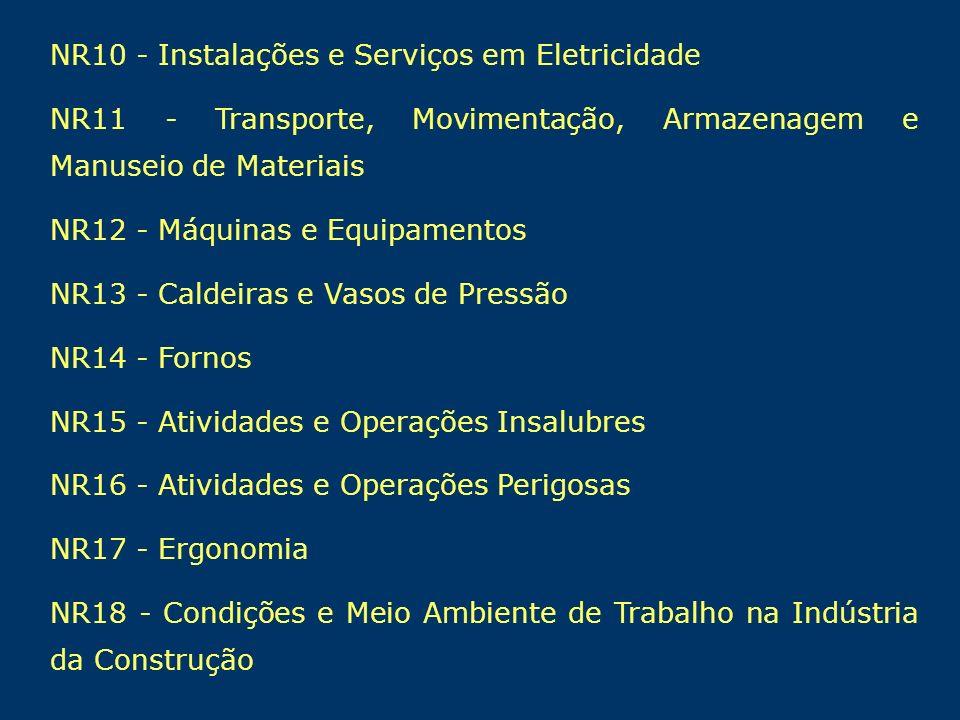 NR10 - Instalações e Serviços em Eletricidade