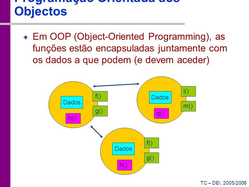 Programação Orientada aos Objectos