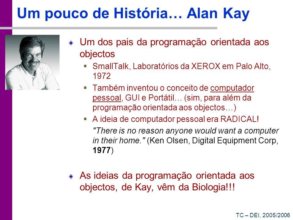 Um pouco de História… Alan Kay