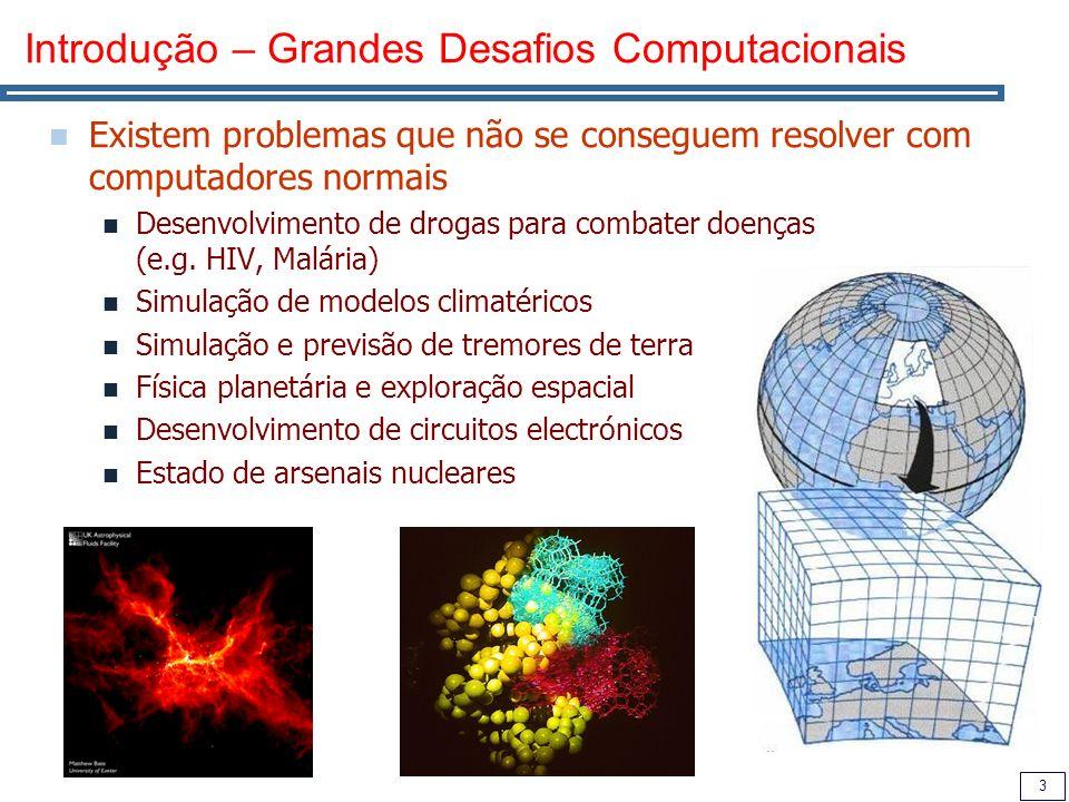 Introdução – Grandes Desafios Computacionais