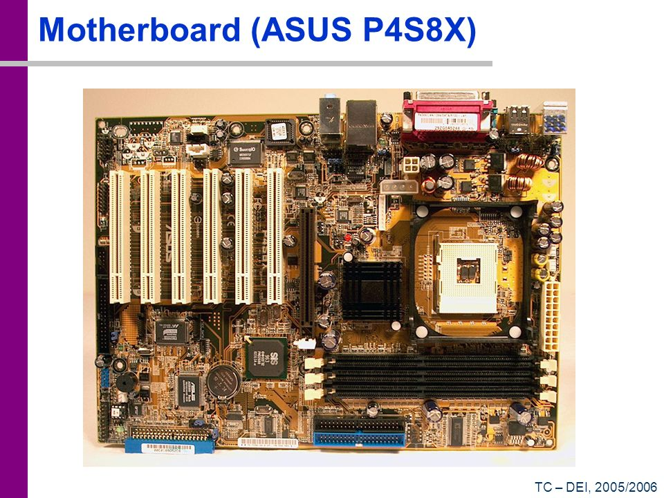 Motherboard (ASUS P4S8X)