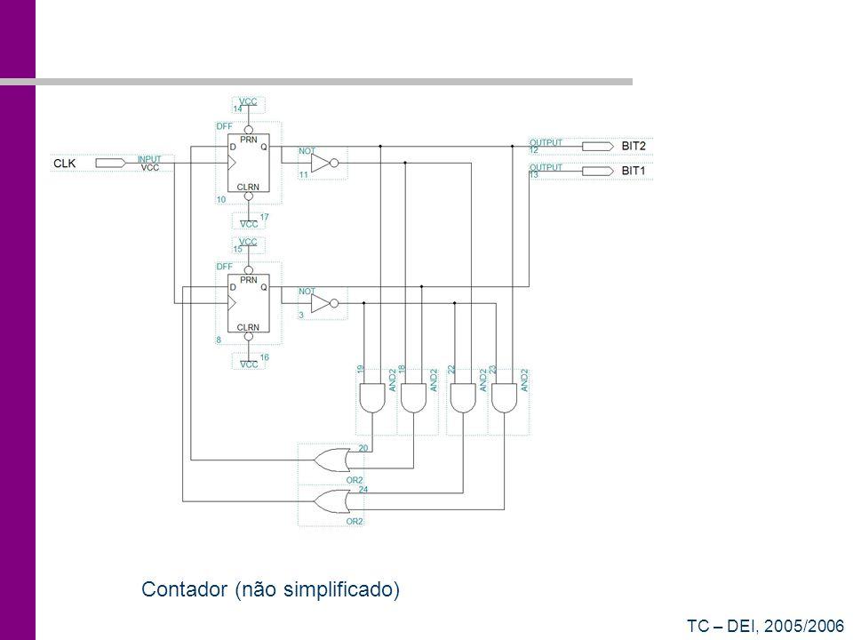 Contador (não simplificado)