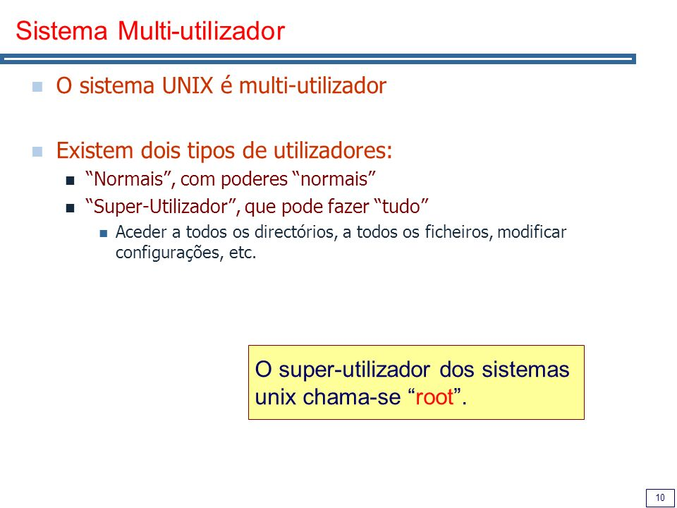 Sistema Multi-utilizador