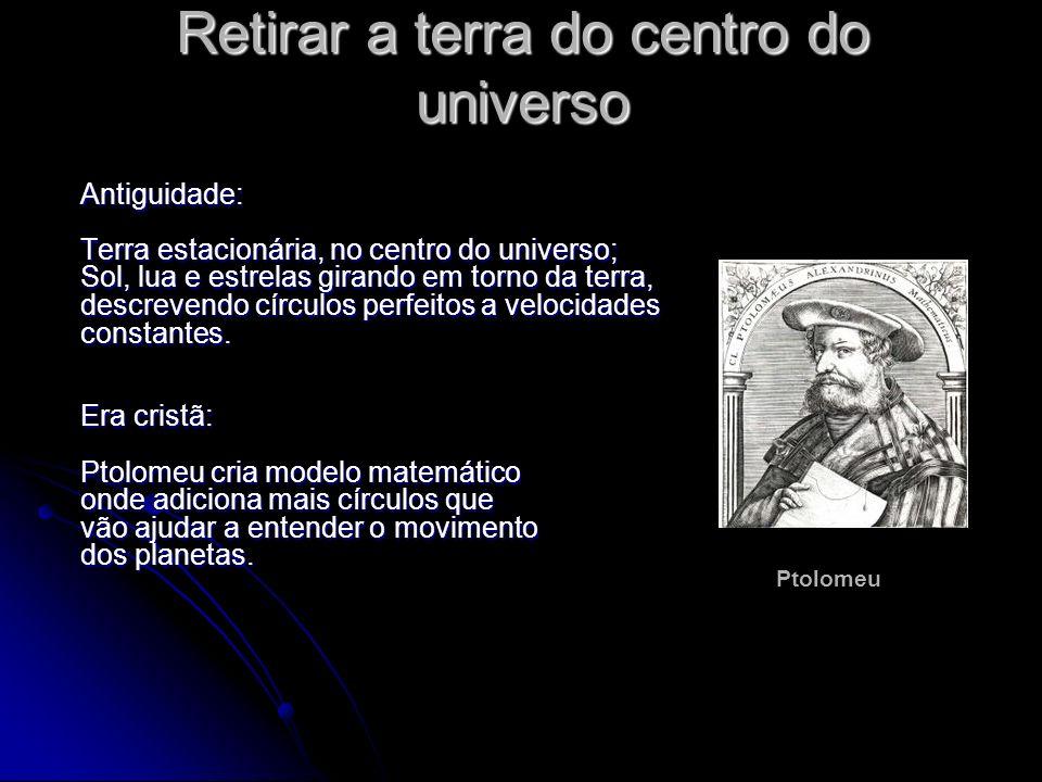 Retirar a terra do centro do universo