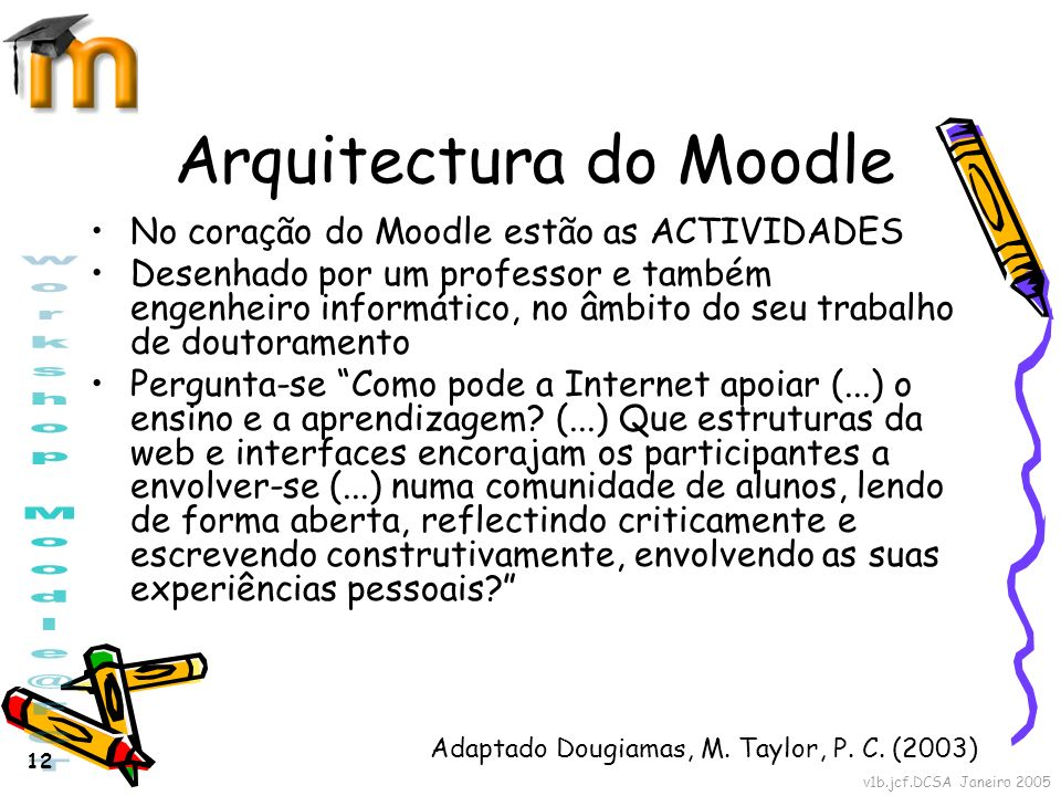 Arquitectura do Moodle