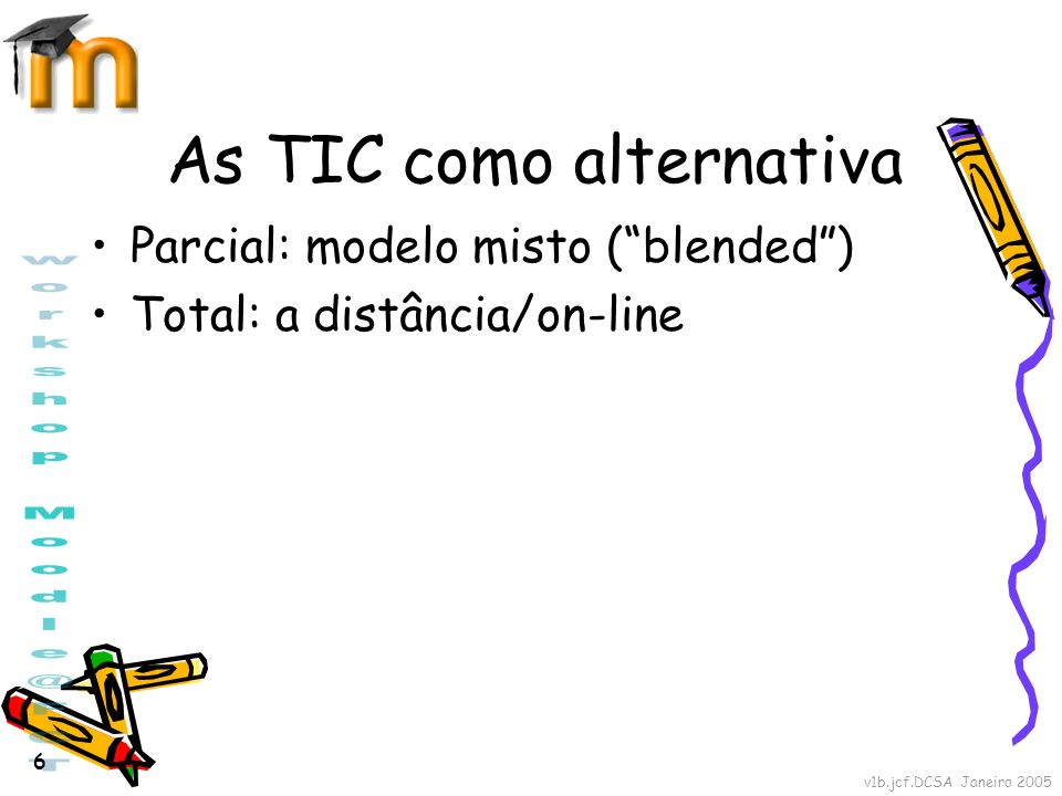 As TIC como alternativa