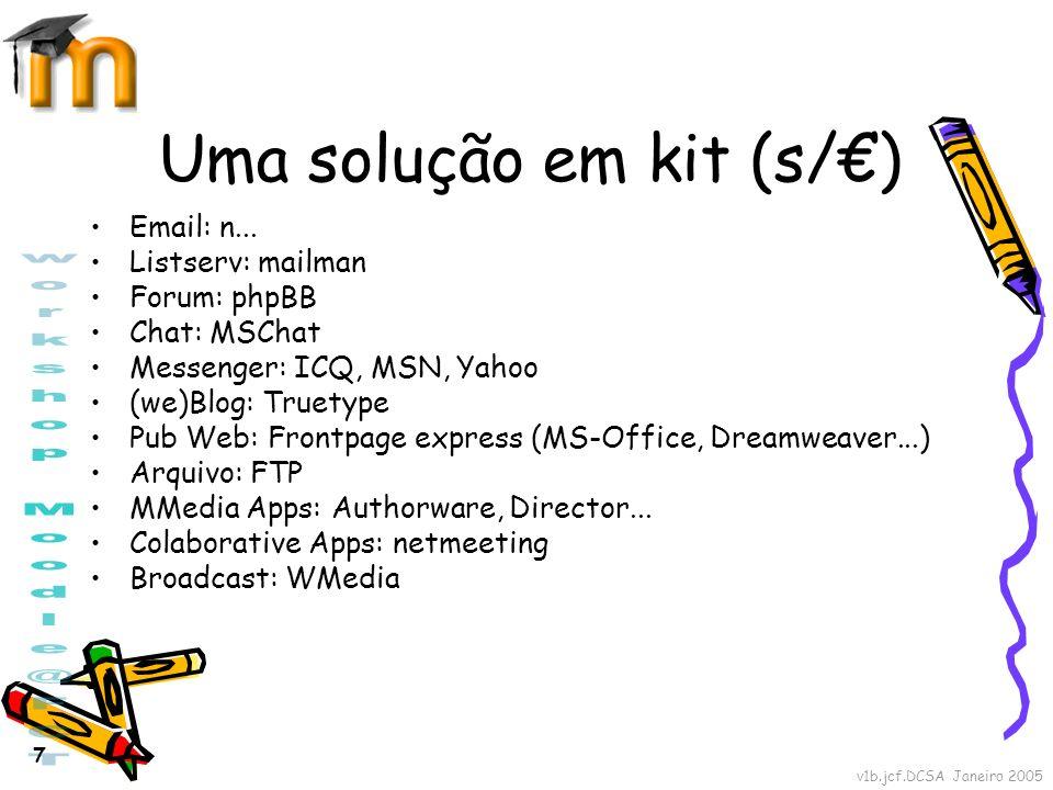 Uma solução em kit (s/€)