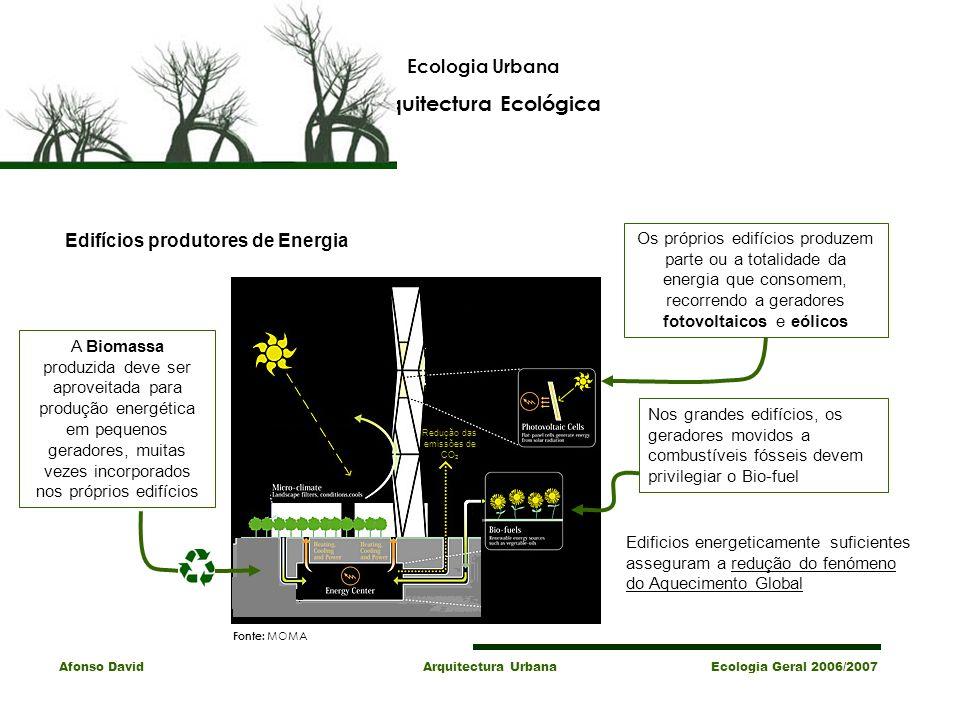 Arquitectura Ecológica Edifícios produtores de Energia