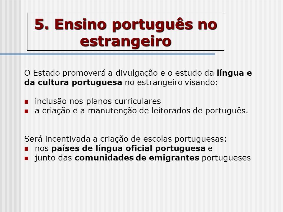 5. Ensino português no estrangeiro