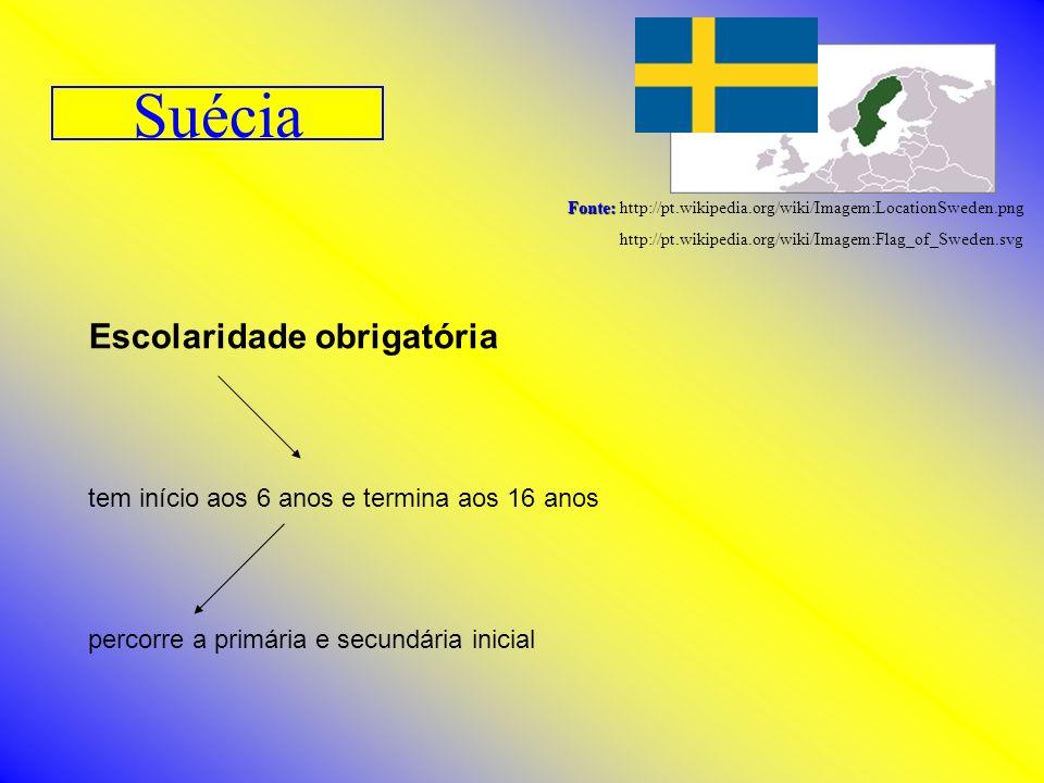 Suécia Escolaridade obrigatória