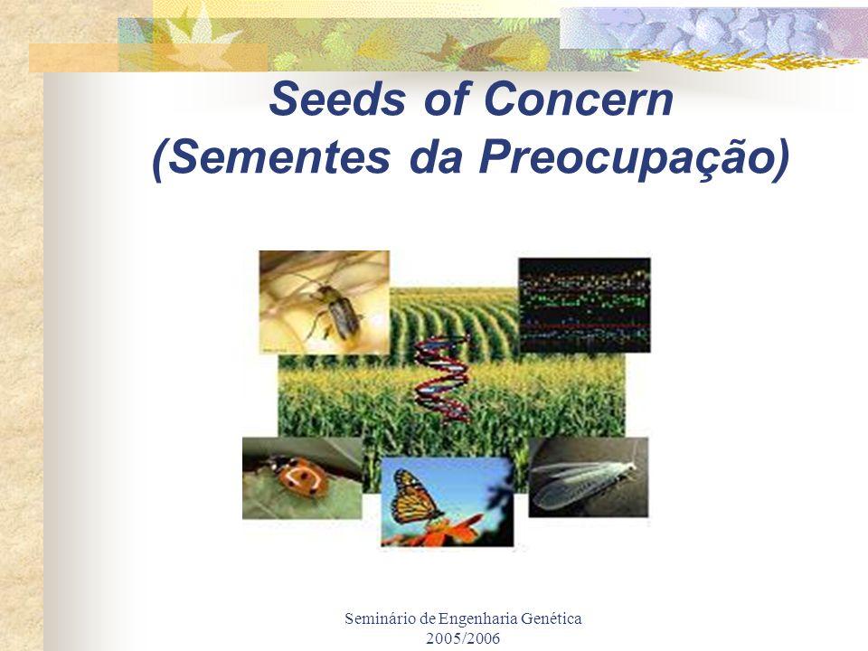 Seeds of Concern (Sementes da Preocupação)