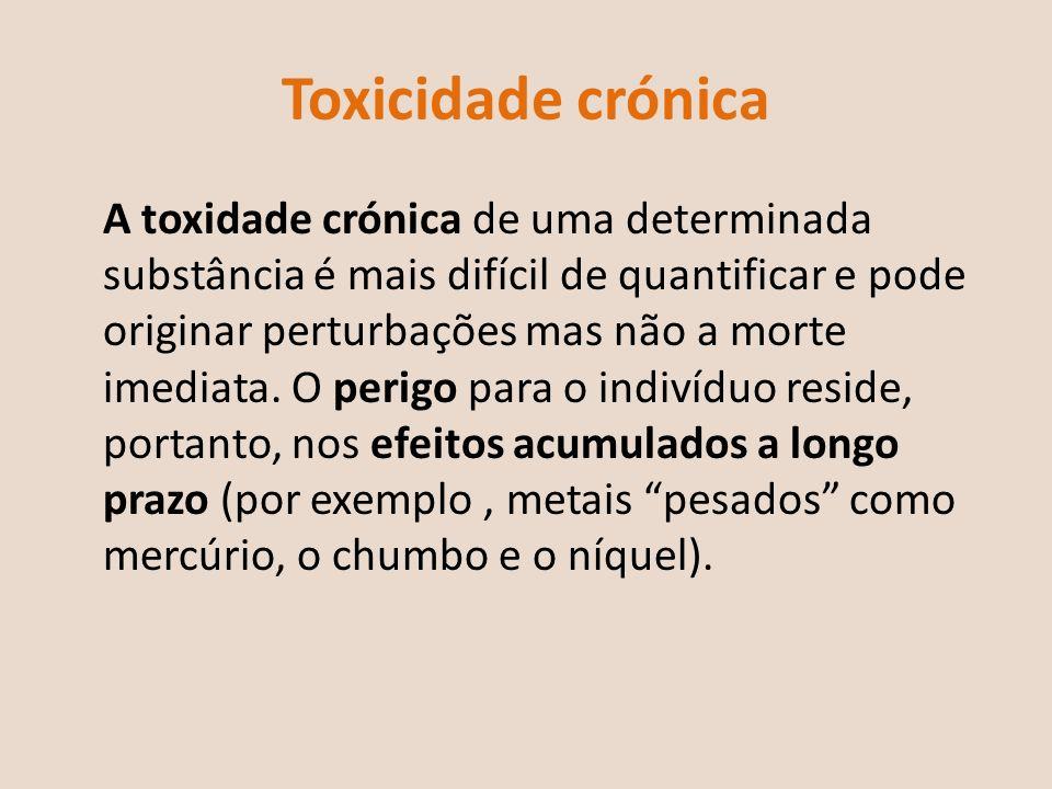 Toxicidade crónica