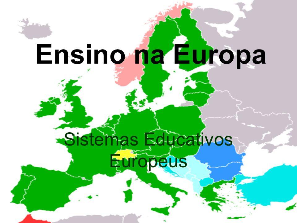 Sistemas Educativos Europeus