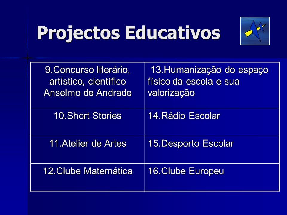 9.Concurso literário, artístico, científico Anselmo de Andrade