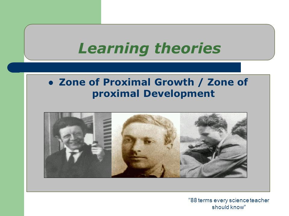 Zone of Proximal Growth / Zone of proximal Development