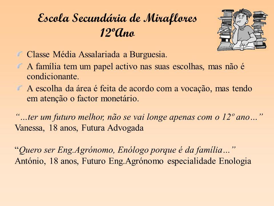 Escola Secundária de Miraflores 12ºAno