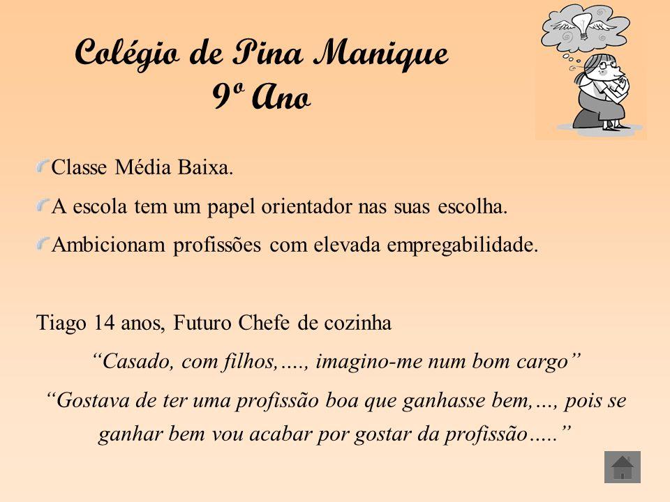 Colégio de Pina Manique 9º Ano