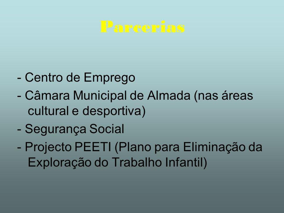 Parcerias - Centro de Emprego