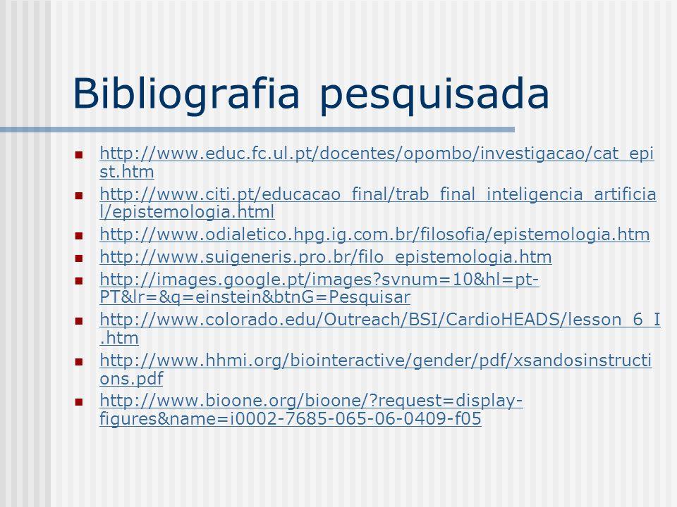 Bibliografia pesquisada