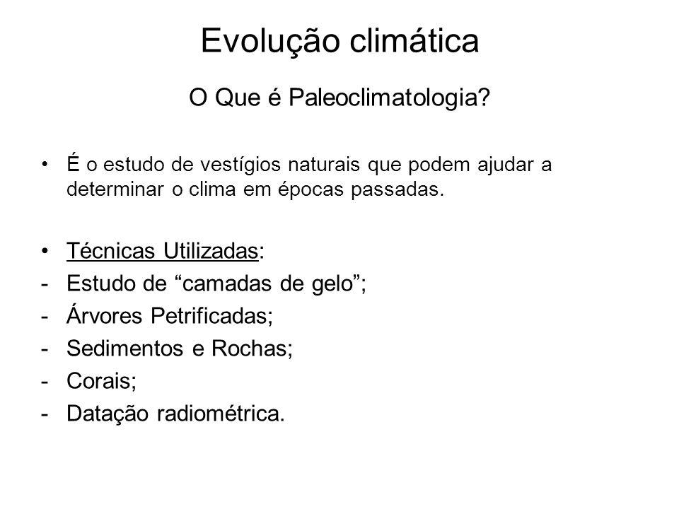 O Que é Paleoclimatologia