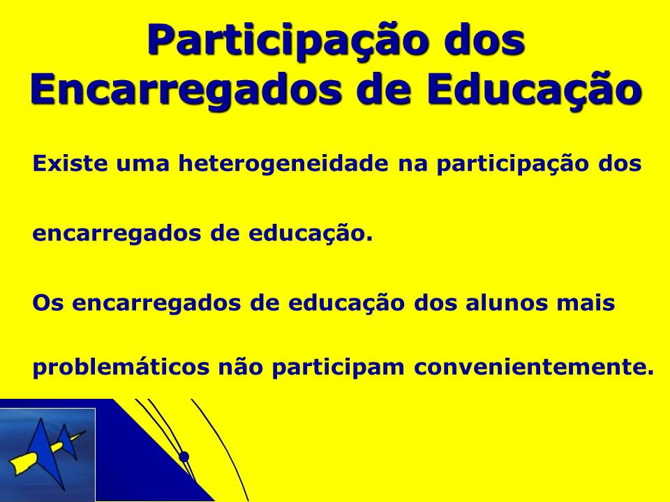 Participação dos Encarregados de Educação
