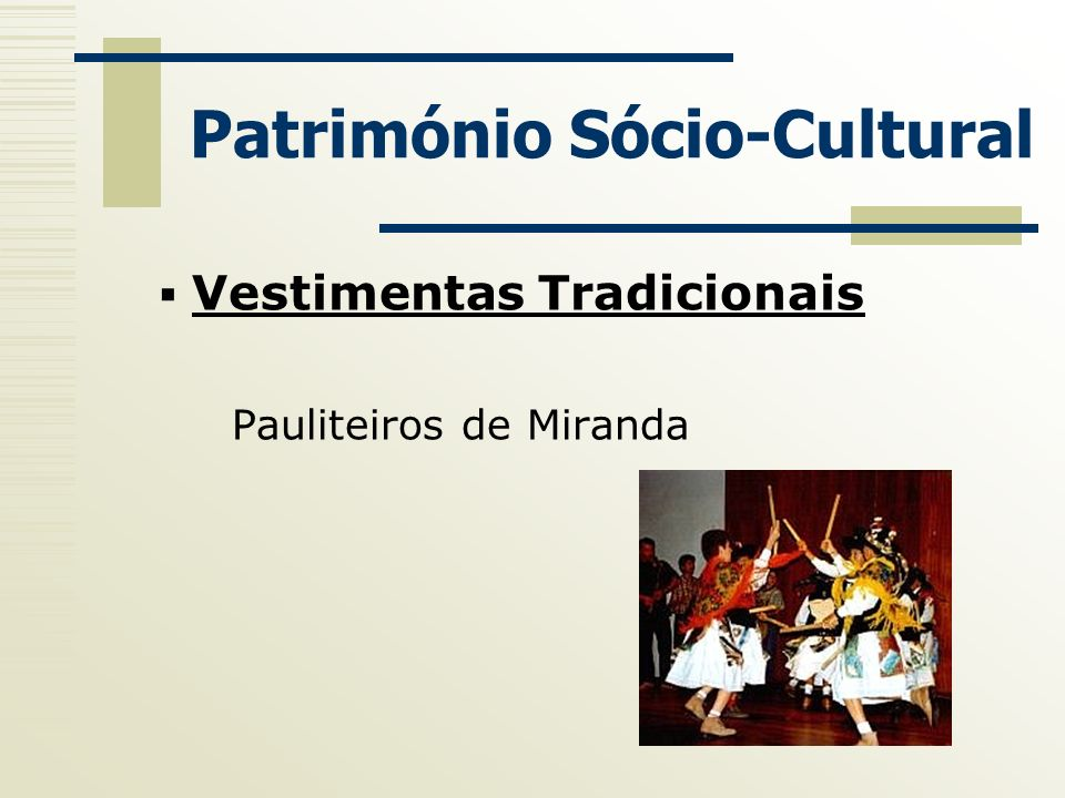 Património Sócio-Cultural