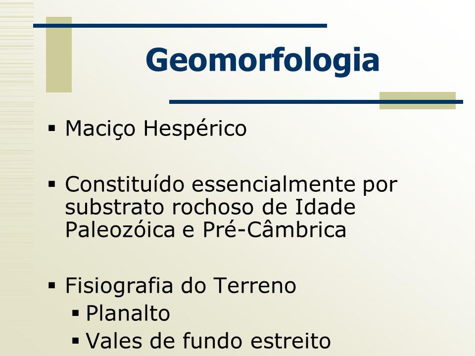 Geomorfologia Maciço Hespérico