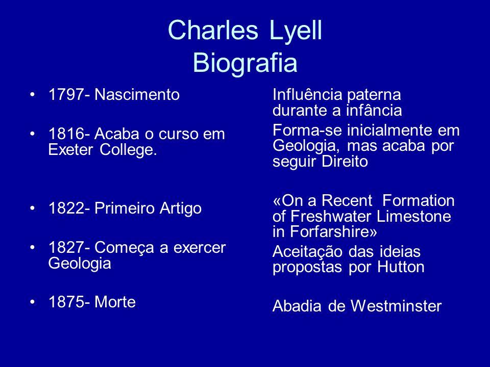 Charles Lyell Biografia