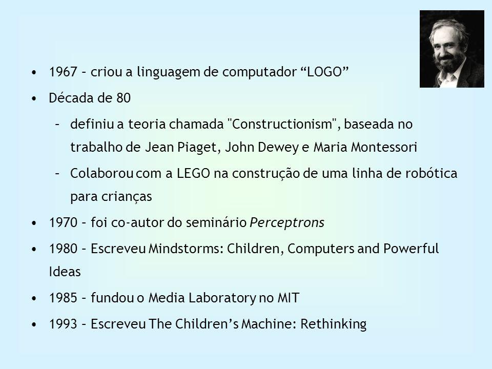 1967 – criou a linguagem de computador LOGO