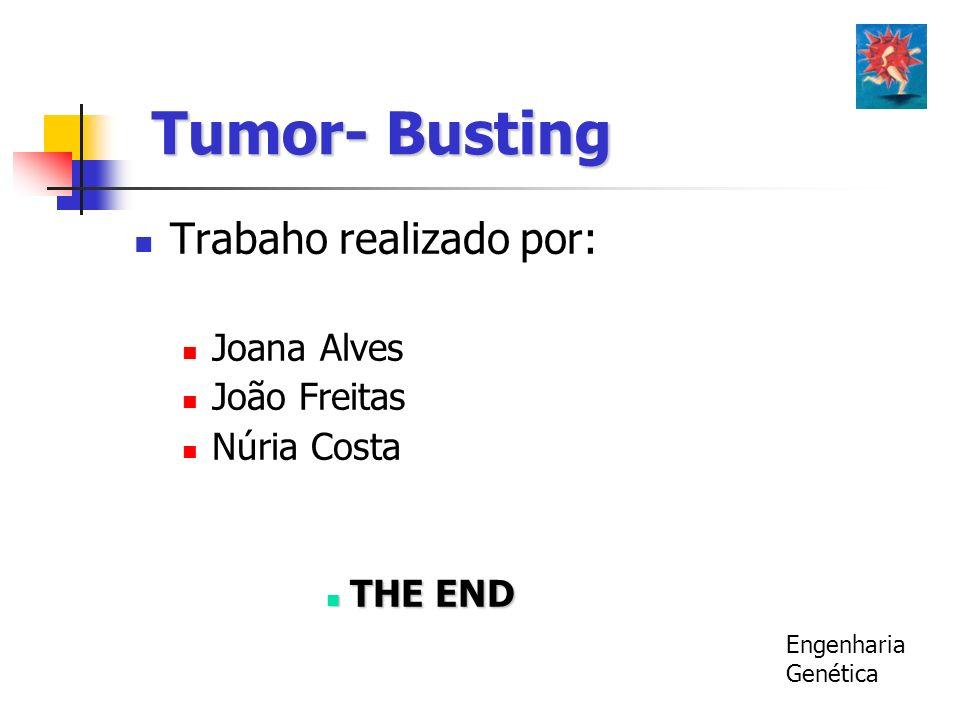 Tumor- Busting Trabaho realizado por: Joana Alves João Freitas