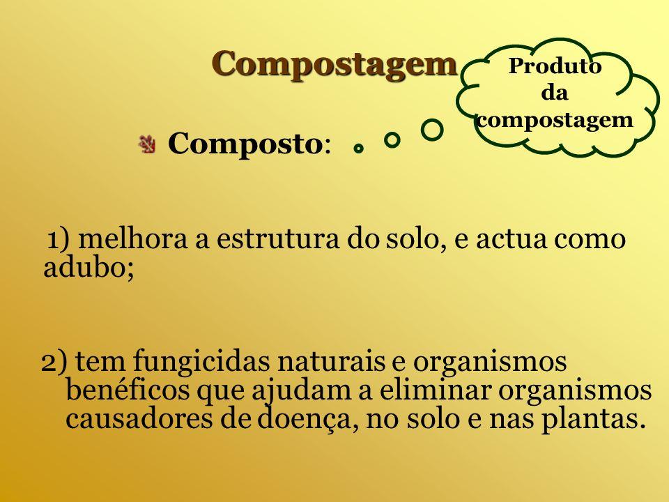 Produto da compostagem