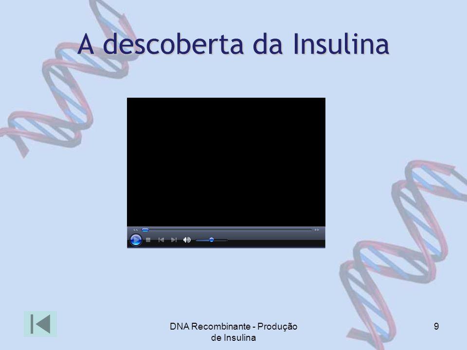A descoberta da Insulina