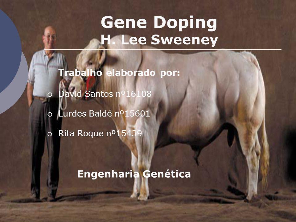 Gene Doping H. Lee Sweeney