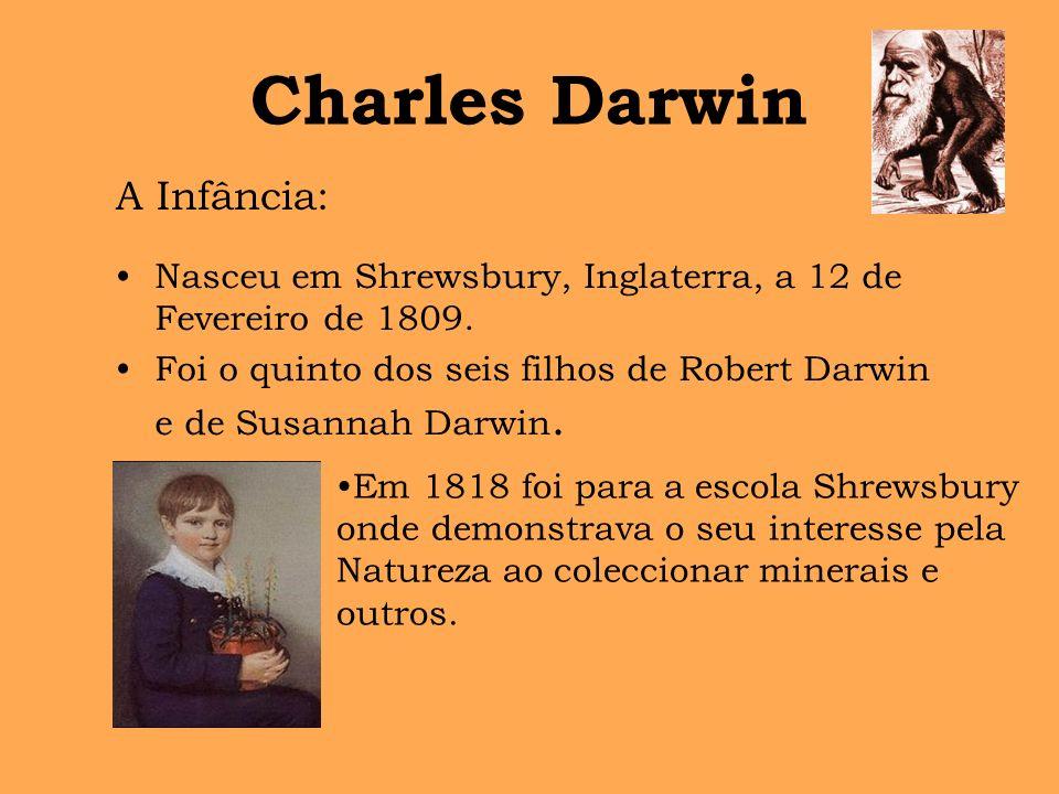 Charles Darwin A Infância: