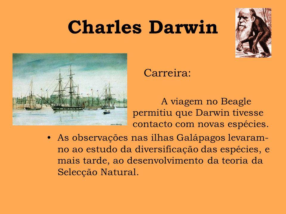 Charles Darwin Carreira: