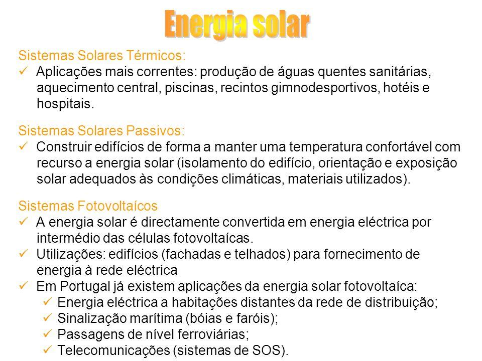 Energia solar Sistemas Solares Térmicos: