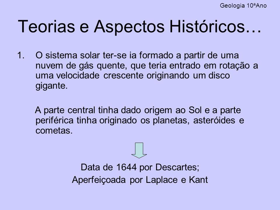 Teorias e Aspectos Históricos…