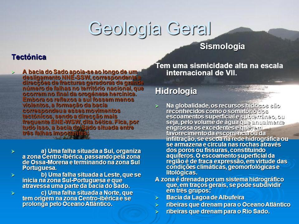 Geologia Geral Sismologia Hidrologia