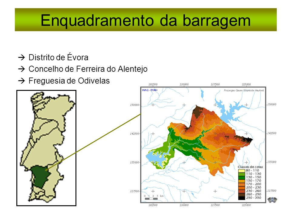 Enquadramento da barragem