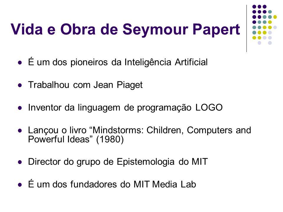 Vida e Obra de Seymour Papert